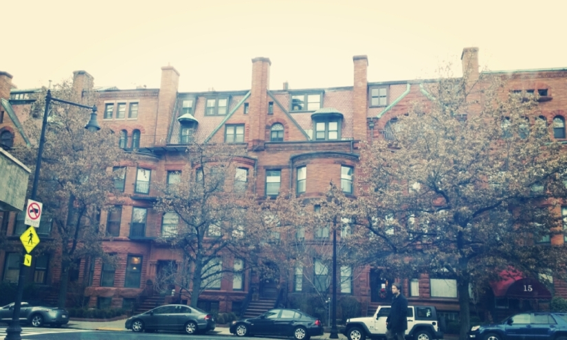Some cute apartments on Beacon Street
