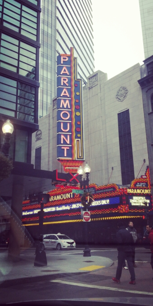 Paramount Theater, opened in 1932 was one of the first movie houses in Boston to play talking motion pictures.