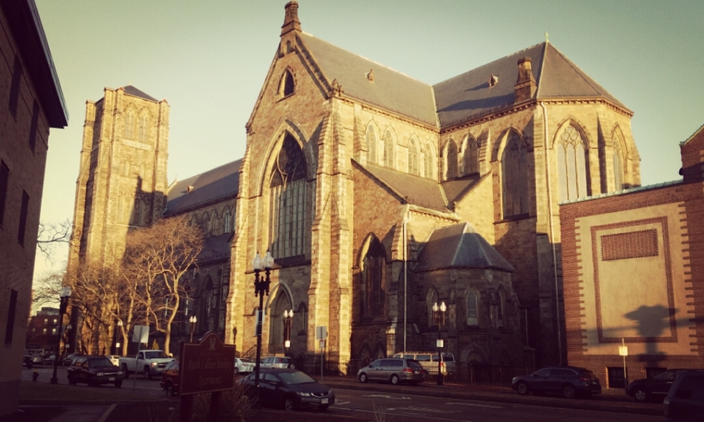 Cathedral of the Holy Cross is the largest Roman Catholic church in New England and was dedicated in 1875