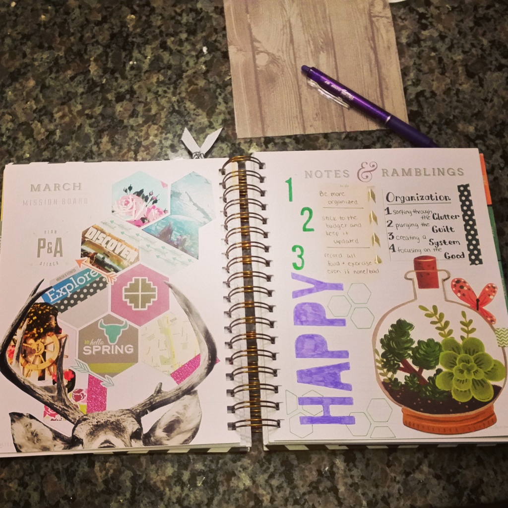 March Layout